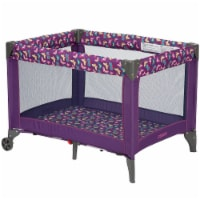 Cosco Funsport Portable Compact Baby Toddler Play Yard w/Wheels, Butterfly Twirl - 1 Unit