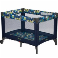Cosco Funsport Portable Compact Comfy Baby Toddler Play Yard with Wheels, Comet
