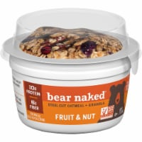 Bear Naked Fruit and Nut Steel-Cut Oatmeal and Granola - 2.3 oz