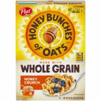 Post Honey Bunches of Oats Whole Grain Honey Crunch Cereal