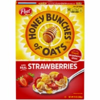 Honey Bunches Of Oats with Real Strawberries Cereal