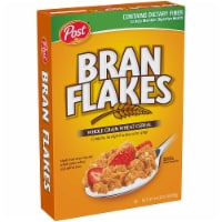Post Bran Flakes Whole Grain Wheat Cereal, 16 Ounce -- 12 per case. - 12-16 OUNCE
