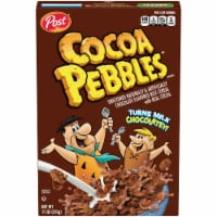 Post Cocoa Pebbles Chocolate Flavored Rice Cereal