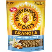 Post Honey Bunches of Oats French Vanilla and Almond Granola