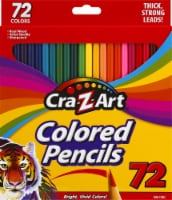 Cra-Z-Art Pre-Sharpened Colored Pencil Set 72 Pack
