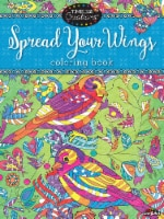 CRA-Z-ART Timeless Creations Spread Your Wings Coloring Book