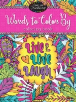 Cra-Z-Art Timeless Creations Words to Color By Adult Coloring Book
