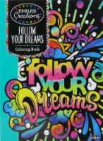 Timeless Follow Your Dreams Coloring Book - 1 ct