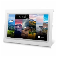 AD KS1016-WHT 10  Cloud Frame w/ 20GB Free Cloud Storage & Smart Phone APP to share photos - 1