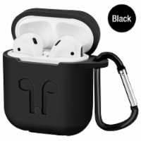 Airpod 2019 Protective Case, Precision Size, 3mm Skin, 360 Protection, Metal Keychain Hook/Cl - 1 unit