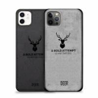 Luxury Soft Texture -Cloth Protective Case-iPhone 12/12Pro, Dirt-Resistant, Anti-Shock - 1