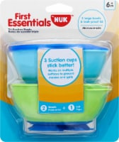 NUK First Essentials Tri-Suction Bowls