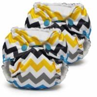 Kanga Care Lil Joey Newborn All in One AIO Cloth Diaper (2pk) Charlie 4-12lbs - Newborn