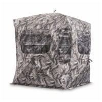 Guide Gear GGFGB-MOETC Field General Ground Hunting Blind, Mossy Oak Camouflage - 1 Piece