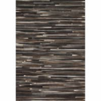 Loloi Rugs PROMPO-03CC00160S 1 ft. 6 in. x 1 ft. 6 in. Contemporary Promenade Rug - Charcoal
