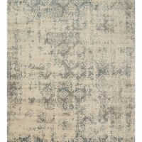 Loloi Rugs MILLMV-05IVGY28A6 2 ft. 8 in. x 10 ft. 6 in. Transitional Millennium Rug - Ivory - 1