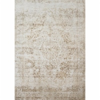 Loloi Rugs PATIPJ-03CHLC3757 Patina Collection Indoor Area Rugs, Champagne & Light Grey-3 x 5