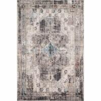 Loloi Rugs MEDUMED-05NASN2440 2 ft. - 4 in. x 4 ft. Medusa Rug, Natural & Stone - 1