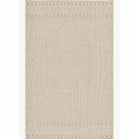 Loloi Rugs SAWYSAW-03SA007696 7 ft. 6 in. x 9 ft. 6 in. Sawyer Sand Contemporary Hand Loomed