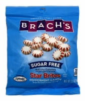 Brach's Sugar Free Star Brites Peppermints, 3.5-Ounce Bags (Pack of 4)