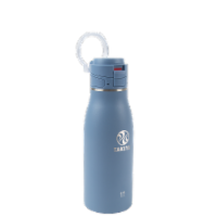 Takeya Actives Traveler Insulated Stainless Steel Bottle with Flip Cap - Bluestone