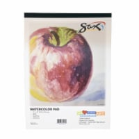 Pacon 1594175 9 x 12 in. Sax Watercolor Pad, 140 lbs, White - 12 Sheets - 1