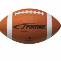 Sportime 1599277 School Smart Gradeball Official Regulation Size Rubber Football, Traditional