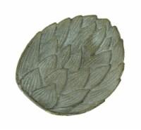 Cast Iron Artichoke Decorative Trinket Dish Valet - One Size