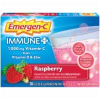 Emergen-C® Immune+® Raspberry Fizzy Drink Mix - 30 ct