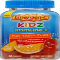 Emergen-C Kidz Fruit Fiesta Daily Immune Support 250mg Gummies - 44 ct