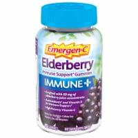 Emergen-C Immune Plus Elderberry Immune Support Gummies - 45 ct