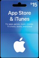 App Store & iTunes $15 Card
