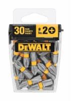 DeWalt  MAXFIT  Phillips  #2   x 1 in. L Insert Bit  S2 Tool Steel  30 pc. - Case Of: 4; Each - Case of: 4