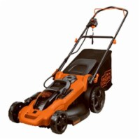 Black and Decker 17 in. W Corded Electric Lawn Mower - Case Of: 1; - Count of: 1
