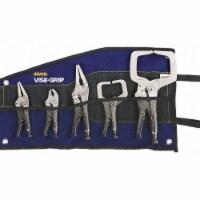 Irwin Vise-Grip Locking Pliers Set,5 pcs.,3/8  W Jaw - 1