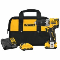 DeWalt Xtreme 12 volt 3/8 in. Brushless Cordless Hammer Drill Kit (Battery & Charger) - Case - Count of: 1