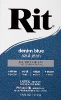 Rit All-Purpose Powder Dye - Denim Blue