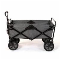 Mac Sports Collapsible Folding Outdoor Utility Garden Camping Wagon Cart, Gray - 1 Unit