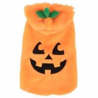 Simply Dog Orange Jack-O-Lantern Costume
