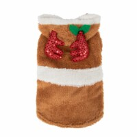 Simply Dog Tan Reindeer Character Jacket