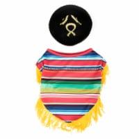 Simply Dog Poncho & Sombrero Costume