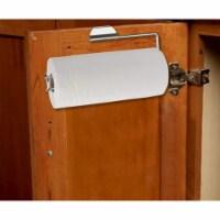 Satin Nickel Over the Door Paper Towel Holder - 1 Unit