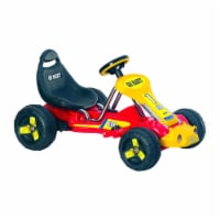 Lil' Rider Red Racer Battery Powered Go-Kart Ride on Toy 2 - 5 Yrs Toddler
