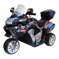 Lil' Rider FX 3 Wheel Motorcycle Battery Powered Bike - Black Ride on Toy 2-4 Yrs Toddler - 1 unit