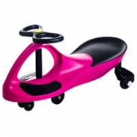Lil Rider Wiggle Car Ride on- Hot Pink