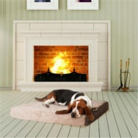 Large PAW Memory Foam Dog Bed With Removable Cover