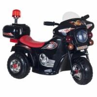 Lil' Rider Three Wheeled Motorcycle Ride-on - Black Ride on Toy Motorbike Chopper 2 - 4 Yrs - 1 unit