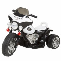 Lil' Rider Mini Three Wheel Police Chopper - Black Ride on Toy 2 - 4 Yrs Toddler Battery