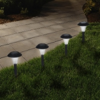 Pure Garden 82-9265 Solar Powered Lights LED Outdoor Stake Spotlight Fixture for Gardens, Pat