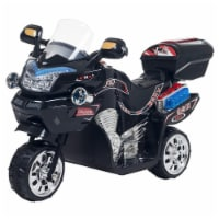 Lil Rider 90-109K Ride-On Toy 3 Wheel Motorcycle Trike for Kids by Rockin Rollers, Black